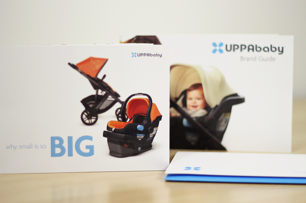 UPPAbaby Brand Guide Booklet